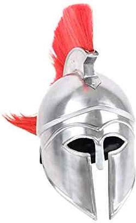 BW Greek Spartan Helmet Greece Travel  #37920 Round Single Coaster