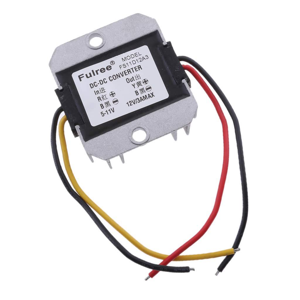 Wechselrichter Spannungswandler Konverter Step-up 5V auf 12V 3A für Alle