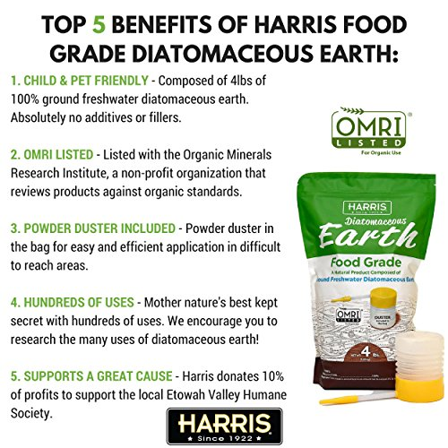 Harris Food Grade Diatomaceous Earth Reviews
