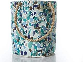product image for Sea Glass Print Beachcomber Bucket Bag
