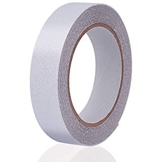 "Anti Slip Tape Transparent, More Clear and Comfortable Safety Track Tape (1"" Width x 190"" Long, Clear)"