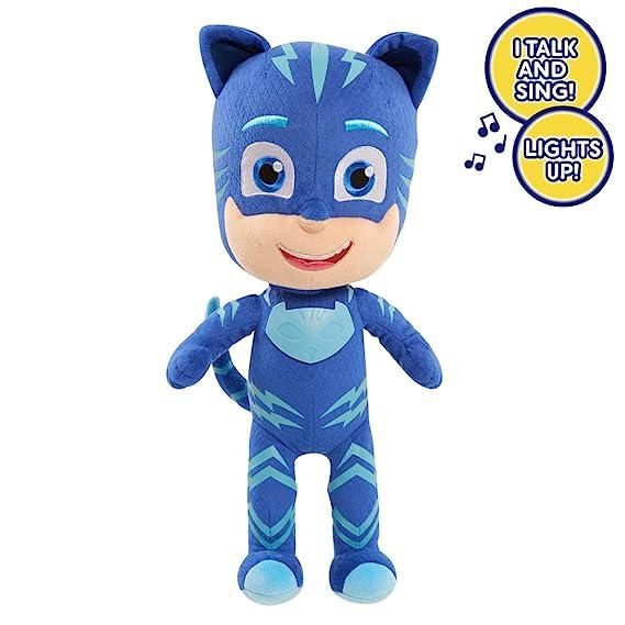 JP PJ máscaras Gato Boy función de Peluche Figura: Amazon.es: Juguetes y juegos