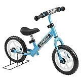 Enkeeo Prima Bici Senza Pedale per Bambini Telaio in Acciaio al Carbonio, Sella e Manubrio Regolabile, 1 Campana Capacit¨¤ fino a 50kg