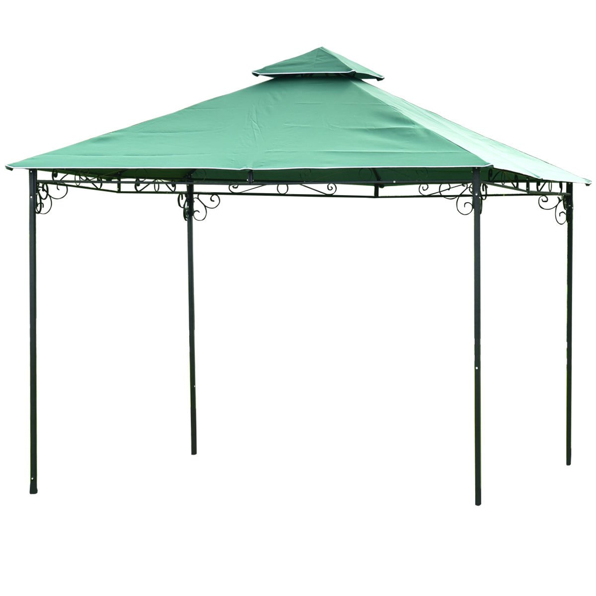 TANGKULA 2 Tier 10'x10' Gazebo Tent Patio Outdoor Party Canopy Tent