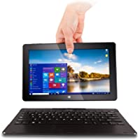 """11.6"""" Fusion5 2-in-1 Windows Laptop - Windows 10, Quad core, T60 Laptop, Touch screen Tablet, Full HD IPS Screen, USB 3.0, Dual 2MP and 5MP Cameras, 2GB RAM, 32GB Storage, 2-in-1 Laptop"""
