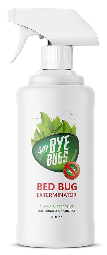 Amazon Com Say Bye Bugs Bed Bug Extermination Spray 16 Oz Pet