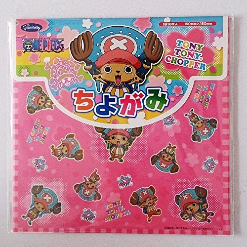 Japanese Figured Paper Chiyogami ONE PIECE TONY TONY CHOPPER Origami Japan by Showa Grimm