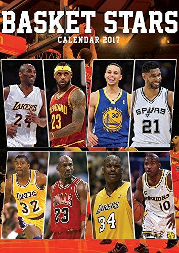 Basketball Stars Kalender 2017 - Größe A3