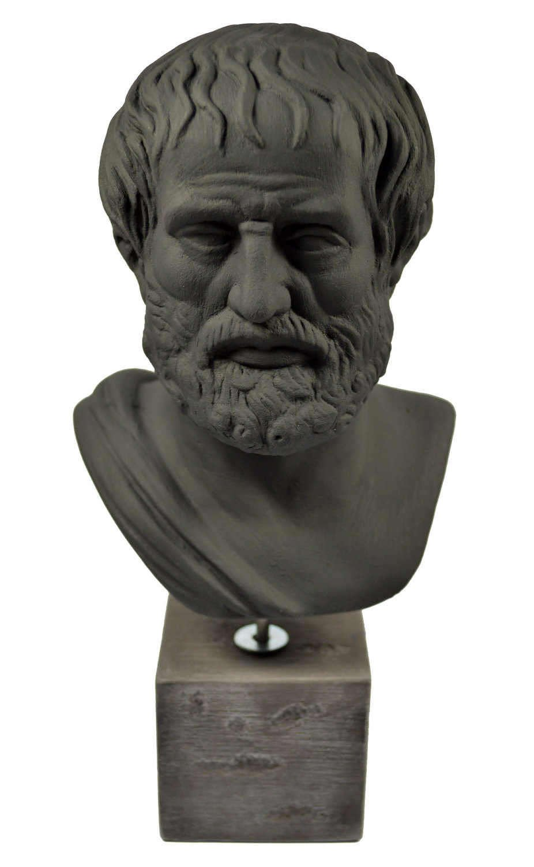 Aristotle sculpture ancient Greek philosopher statue bust by Estia Creations