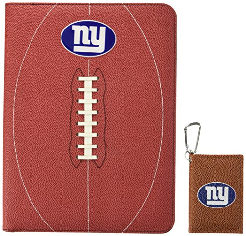 Nfl Portfolio (NFL New York Giants Classic Football Portfolio & ID Holder Gift Pack, One Size, Brown)