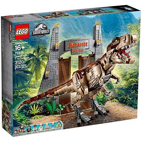 レゴ (LEGO) ジュラシック・ワールド ジュラシック・パーク: T-レックスが大暴れ 75936