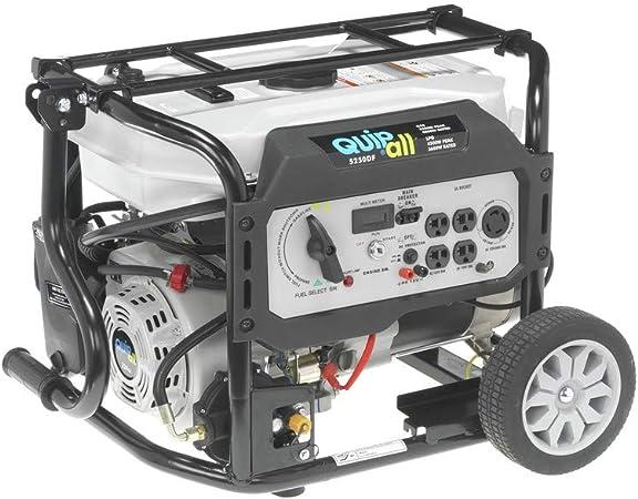 Amazon.com: Quipall 5250DF - Generador portátil de ...