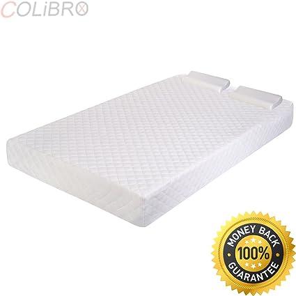 Amazon Com Colibrox Queen Size 10 Inch Memory Foam Mattress Pad