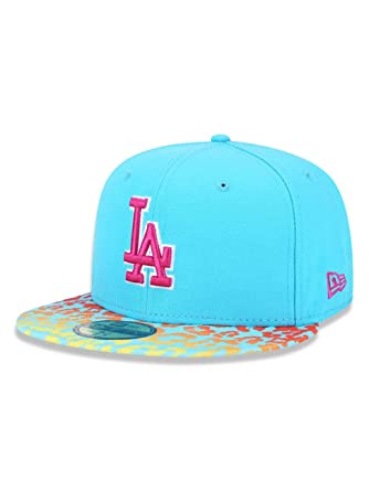 987e7ff8daae0 BONE 5950 LOS ANGELES DODGERS MLB ABA RETA AZUL NEW ERA  Amazon.com ...