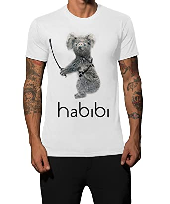 Iacobuccyounes Herren T-Shirt weiß Bianco S