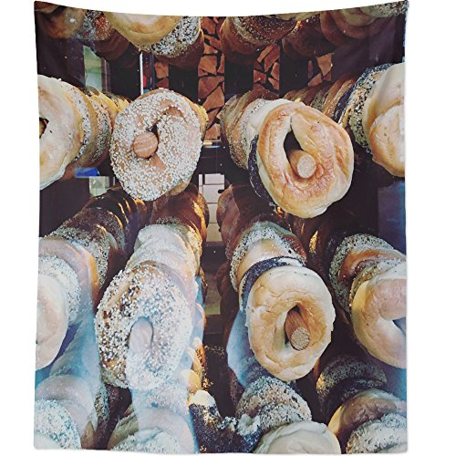 Westlake Art - Food Bread - Wall Hanging Tapestry - Picture Photography Artwork Home Decor Living Room - 68x80 Inch ()