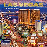 Las Vegas 2018 7 x 7 Inch Monthly Mini Wall Calendar with Foil Stamped Cover, USA United States of America Nevada Rocky Mountain City
