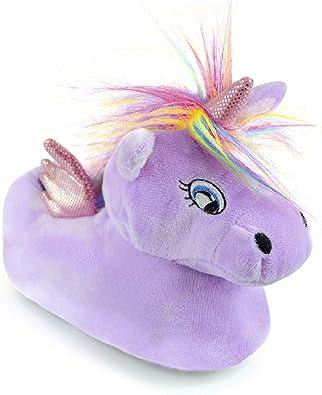 Childrens Novelty Unicorn Slippers