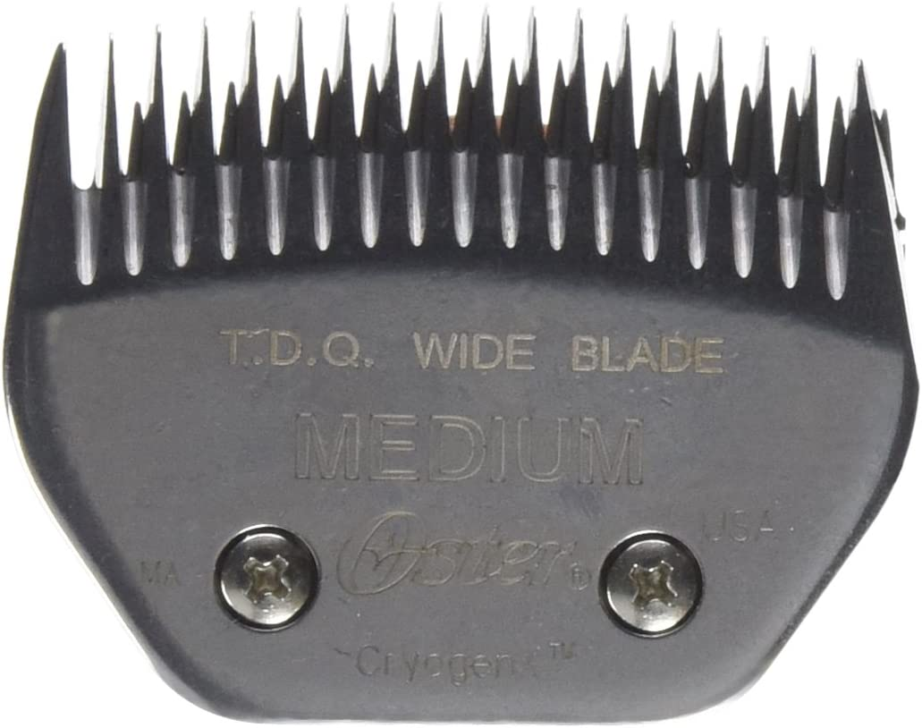 Oster Take Down Quick TDQ Professional Animal Clipper Blade, Size Medium