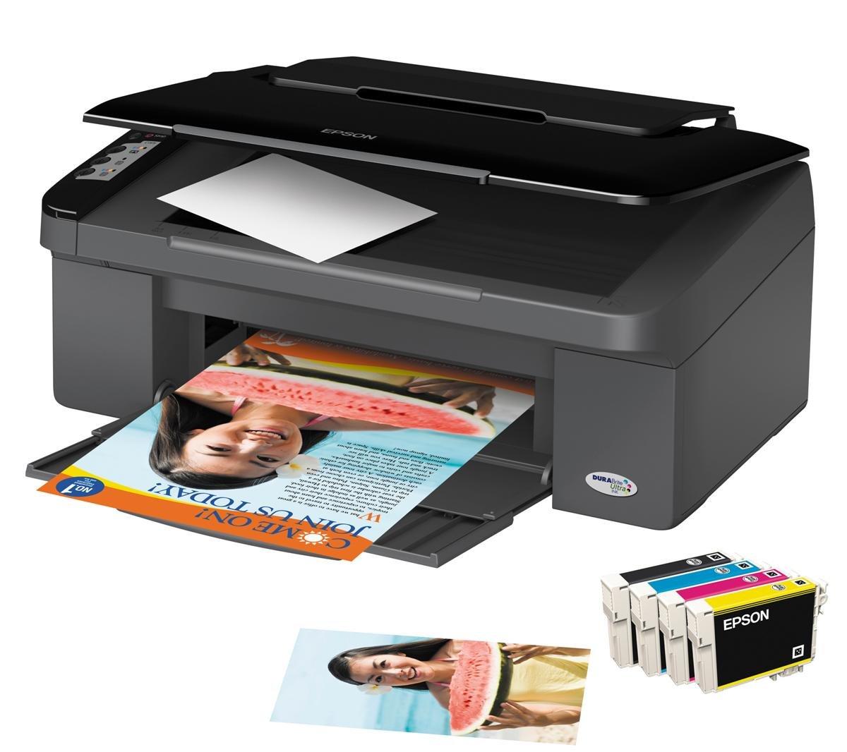 Epson Stylus SX100 - Impresora multifunción de Tinta Color (26 ppm ...