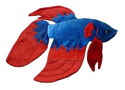 Amazon Com Adore 20 Flare The Betta Fish Stuffed Animal Plush Toy