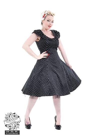9dc29b11ef32c Black White Small Polka Dot Off Shoulder Dress Size S: Amazon.co.uk:  Clothing