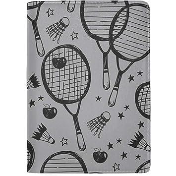 Raqueta de bádminton y Raqueta de Tenis Bloqueo de impresión ...