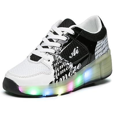 fcfc552b8efb3 Husk  sware Noël Cadeau LED Bright Enfant Enfants Chaussures Skate Chaussures  de Garçons de Filles