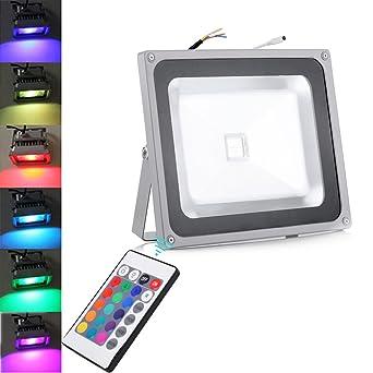 Foco Proyector LED 10W 20W 30W 50W 100W RGB - foco proyector de ...