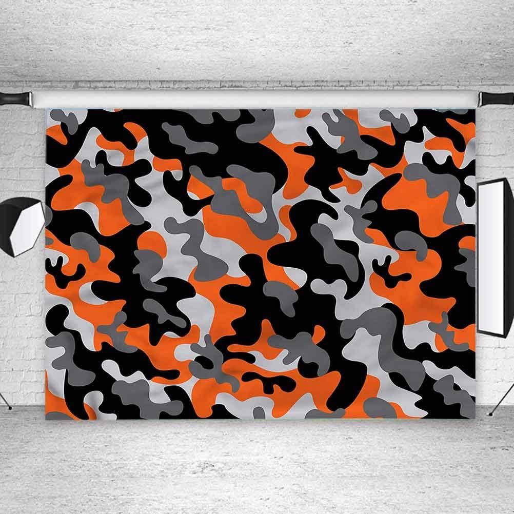 8x8FT Vinyl Photo Backdrops,Camo,Artistic Modern Design Photo Background for Photo Booth Studio Props