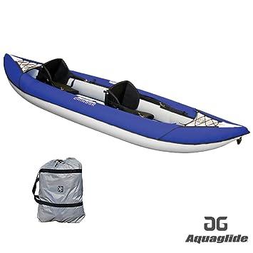 Aquaglide Chinook XP 2 Man Kayak BLUE + 2 FREE PADDLES + Pump ...