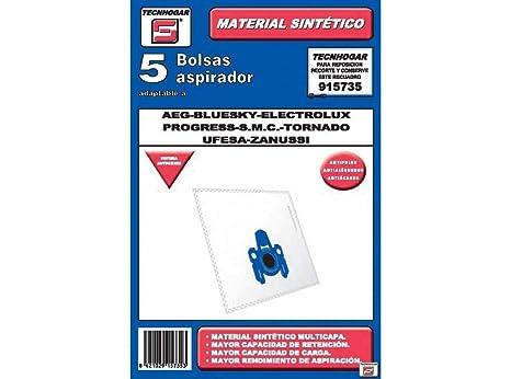 Amazon.com: TECNHOGAR – 915735 – Bolsa aspirador, color ...