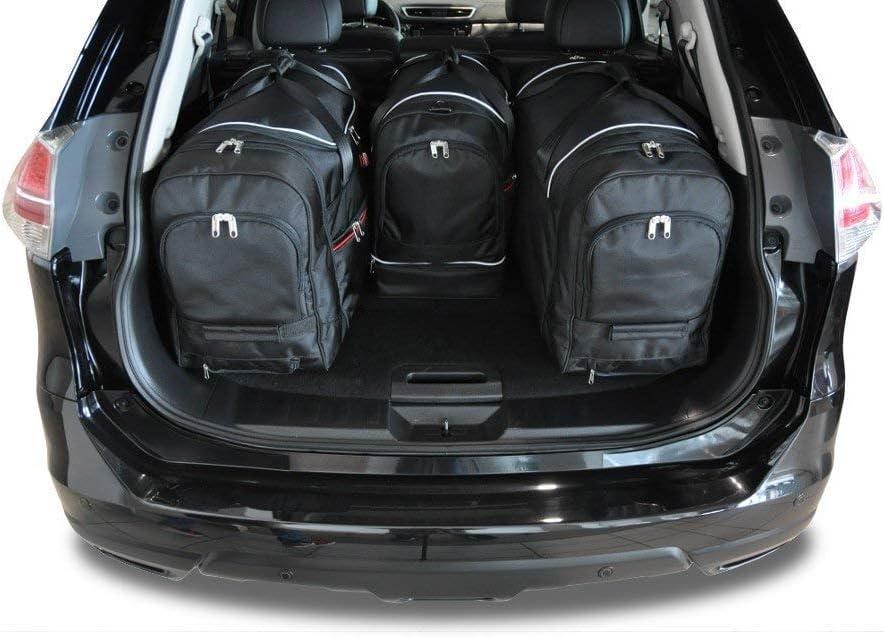 KJUST Dedizierte Reisetaschen 4 STK Set kompatibel mit Nissan X-Trail III 2014