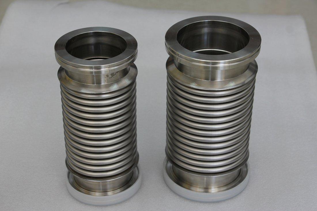 Vacío Flexible Fuelle Manguera ISO 63 placas de 20 cm de largo, Bellow reborde: Amazon.es: Amazon.es