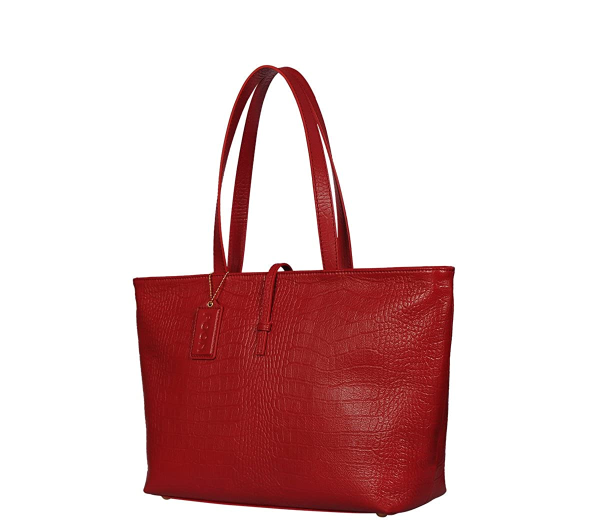 9e35897813ee POON Handbag Leather Red Hand and Shoulder Bag   Ladies Women Shoulderbags Tote  Bag Handbags    Amazon.co.uk  Shoes   Bags
