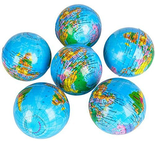 RI Novelty Earth Globe 3