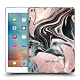 Official Nature Magick Pink Luxe Gold Marble Metallic Soft Gel Case Compatible for iPad Pro 9.7 (2016)