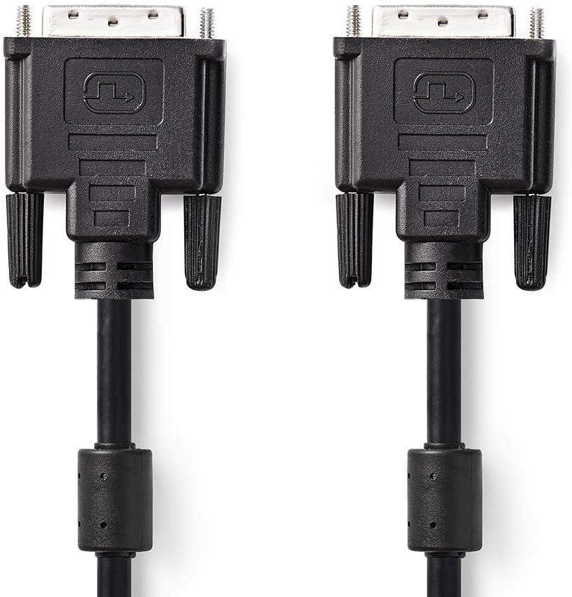DVI D Digital Moniteur PC 18+1 Broches M/âle Vers M/âle c/âble Cordon 3 m Plaqu/és Or