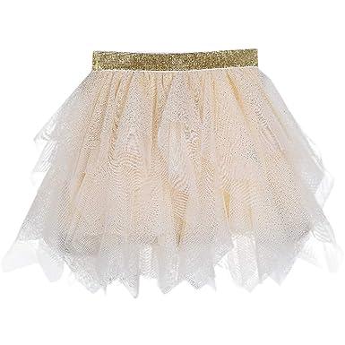 SUCCESS - Falda de Tul Irregular para niña, Falda de Ballet, tutú ...