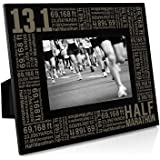 13.1 Math Miles Engraved Running Picture Frame by Gone For a Run | Horizontal