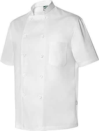Chaquetilla Uniforme Hostelería De Verano Unisex De Manga Corta con Bolsillos. Ropa Cocina/Cocinero/Cocinera/Chef. Ref: 4114: Amazon.es: Ropa y accesorios