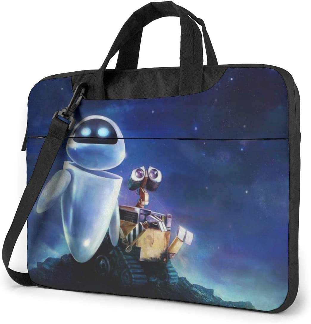 Wall.E Laptop Sleeve Case Handheld One Shoulder Shockproof Oxford Protective Case//Notebook Computer Pocket Case//Tablet Briefcase Carrying Bag Compatible-13 inch