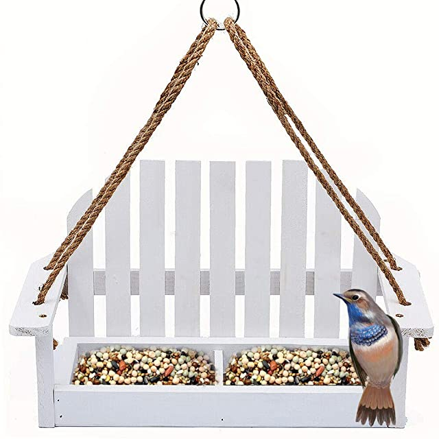 Solution4Patio Adirondak Chair Bird Feeder