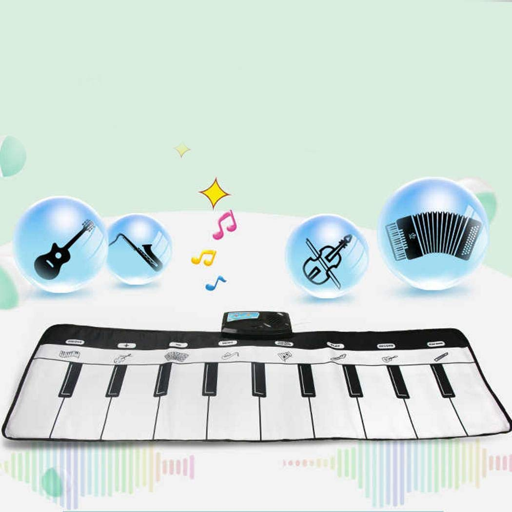 Breven Kids Piano Keyboard Mat, Electronic Music Playmat Carpet, Musical Crawling Blanket, Educational Toy Dance Mats by Breven (Image #4)