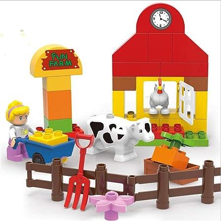 BABIFIS Bloques de construcción, Happy Ranch, Juguete de ...