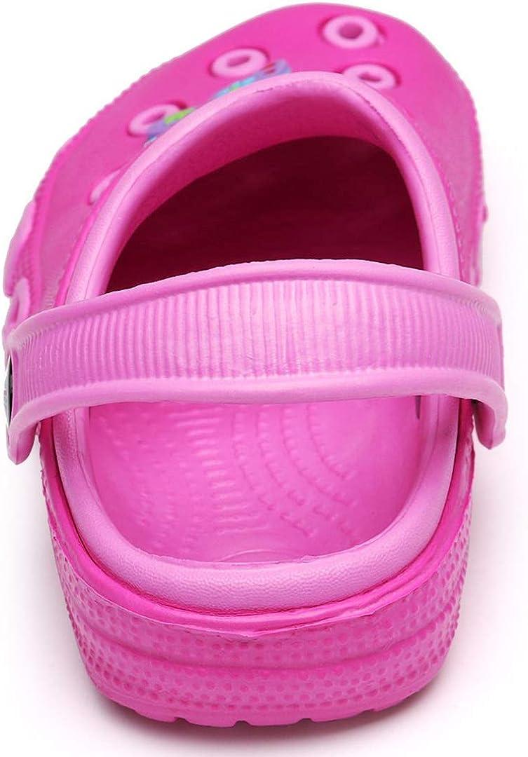 Gartenschuhe Unisex Kinder Clogs Pantoletten M/ädchen Atmungsaktiv Hausschuhe Sandalen Jungen Badeschuhe Hohl Pantoletten rutschfeste Sommer Latschen
