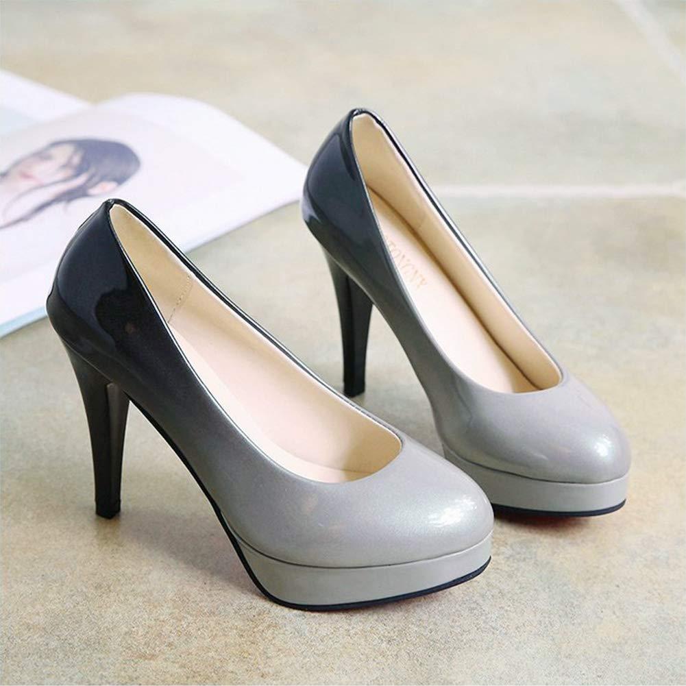 ee027779c08e1 PADGENE - Zapatos de Vestir de Otra Piel Mujer