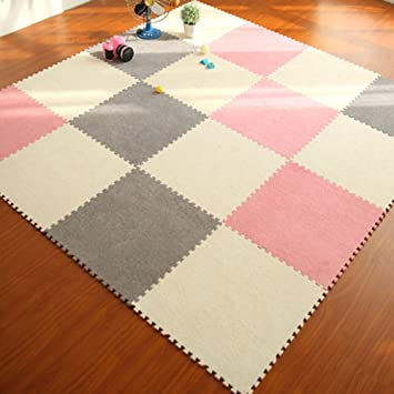 Yazi Puzzle Floor Play Mat Infant Play Zone Baby Room Soft Mat For