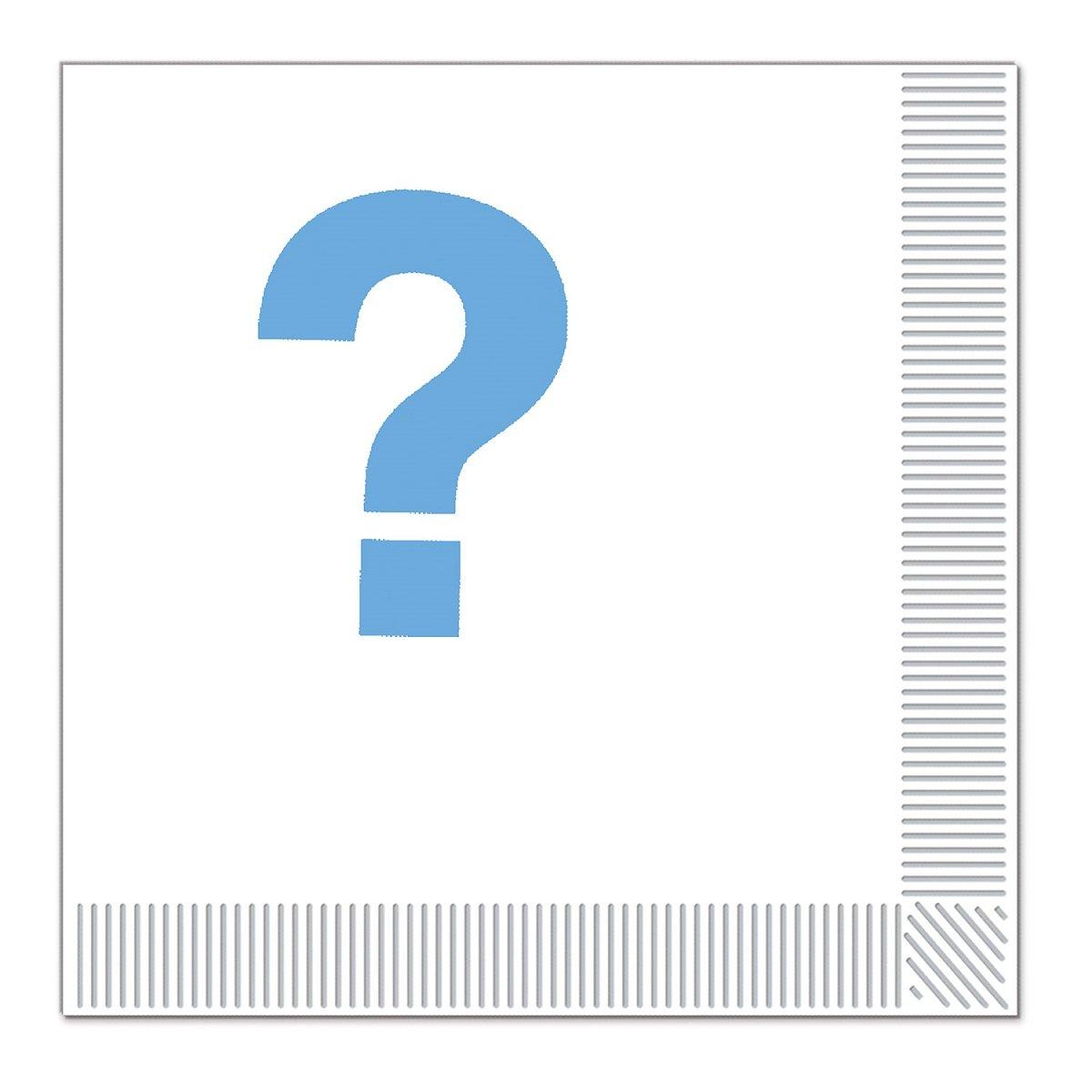 クラブパック192ブルーとホワイトのチームブルー、2層使い捨てパーティーLuncheon Napkins B015EVYWXA