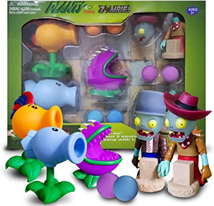 Chomper and Snowpeas Plants Vs Zombies Gift Box Firepea